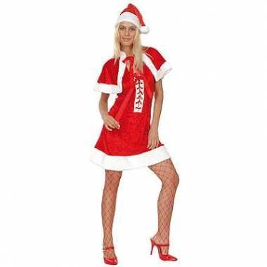 Dames  Kerstvrouw kleding mooie