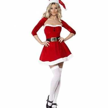 Dames  Kort kerstkleding met bolero