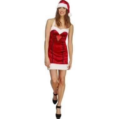 Dames sexy kerstkleding miss santa