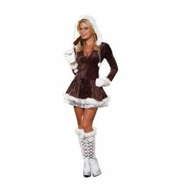 Eskimo kerstkleding voor dames