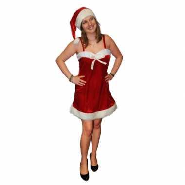 Fluwelen kerstkleding voor dames 10076606