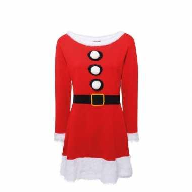 Gebreid kerstvrouw kleding voor dames