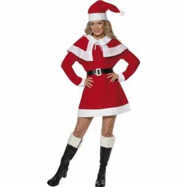 Kerstjurk kleding dames rood