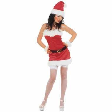 Kerstkleding flanel voor dames